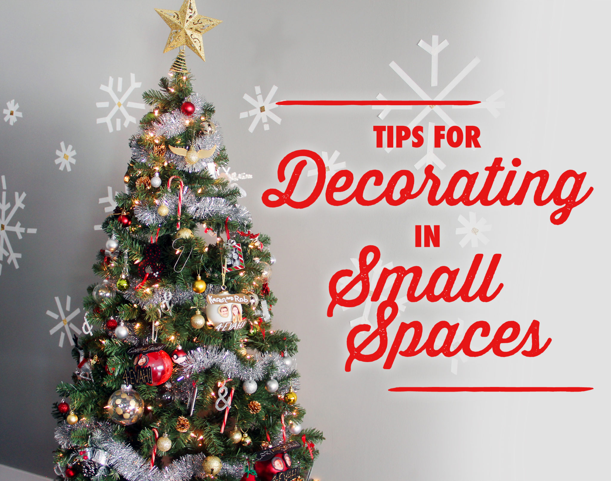10 Tips for Decorating Your Apartment for Christmas | Karen Kavett