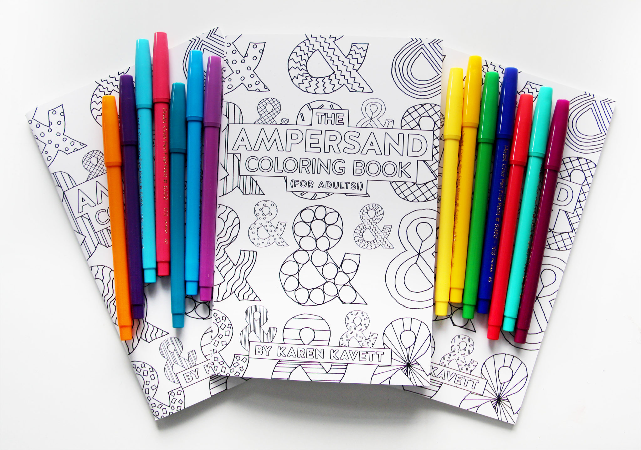 New Bookmarks For Sale on DFTBA + The Ampersand Coloring Book ...
