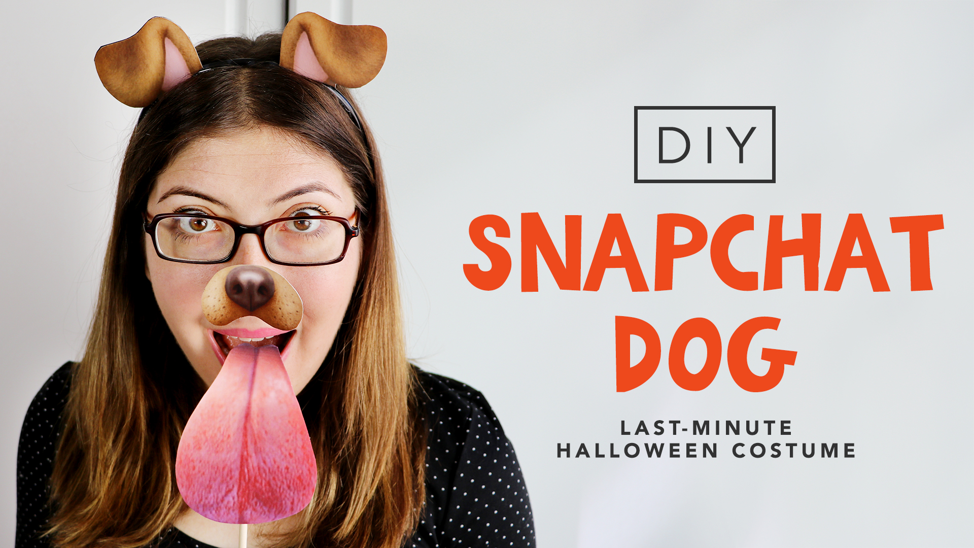 image regarding Halloween Head in a Jar Printable named Do-it-yourself Ultimate-Second Snapchat Canine Dress! - Halloween 2016