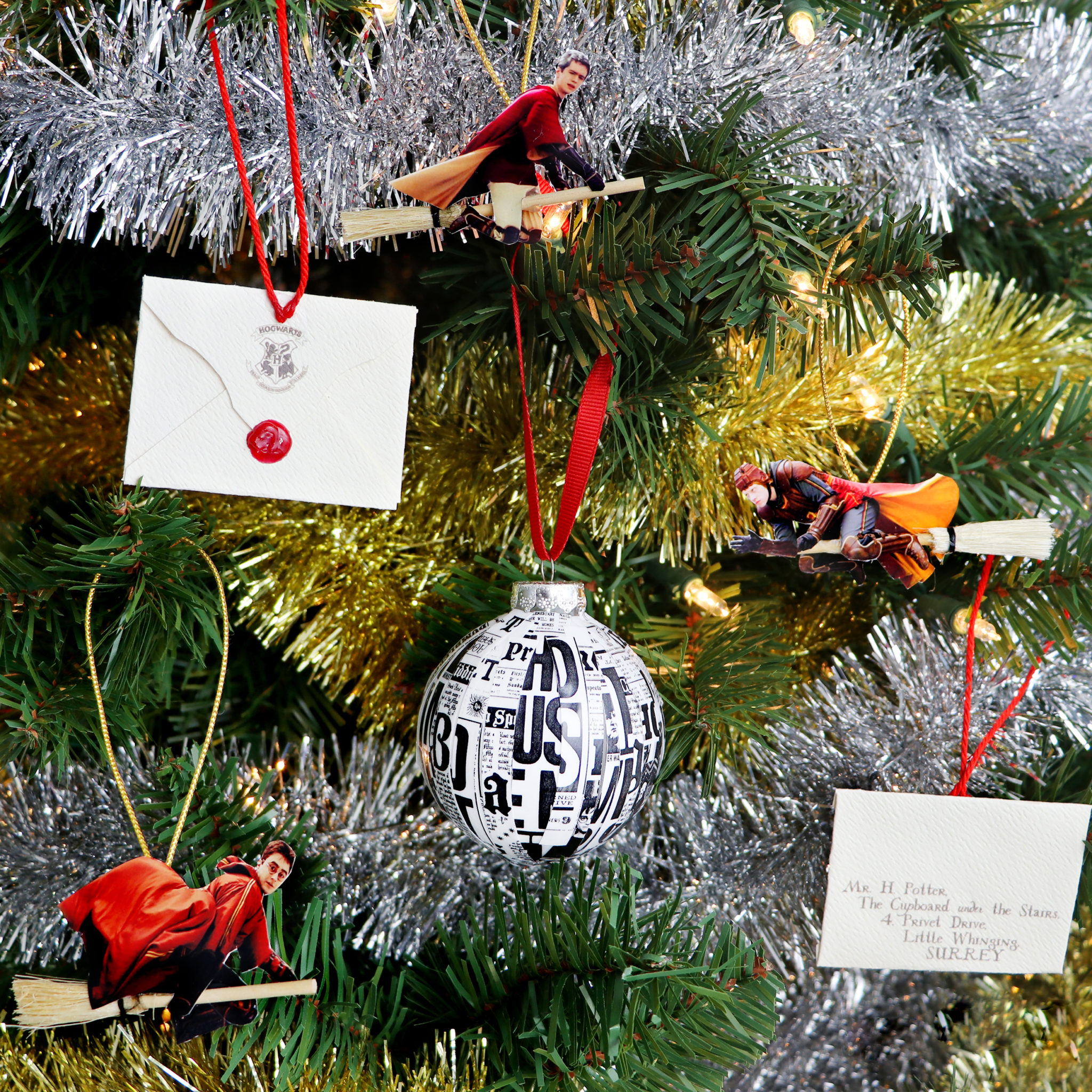 DIY Harry Potter Christmas Ornaments