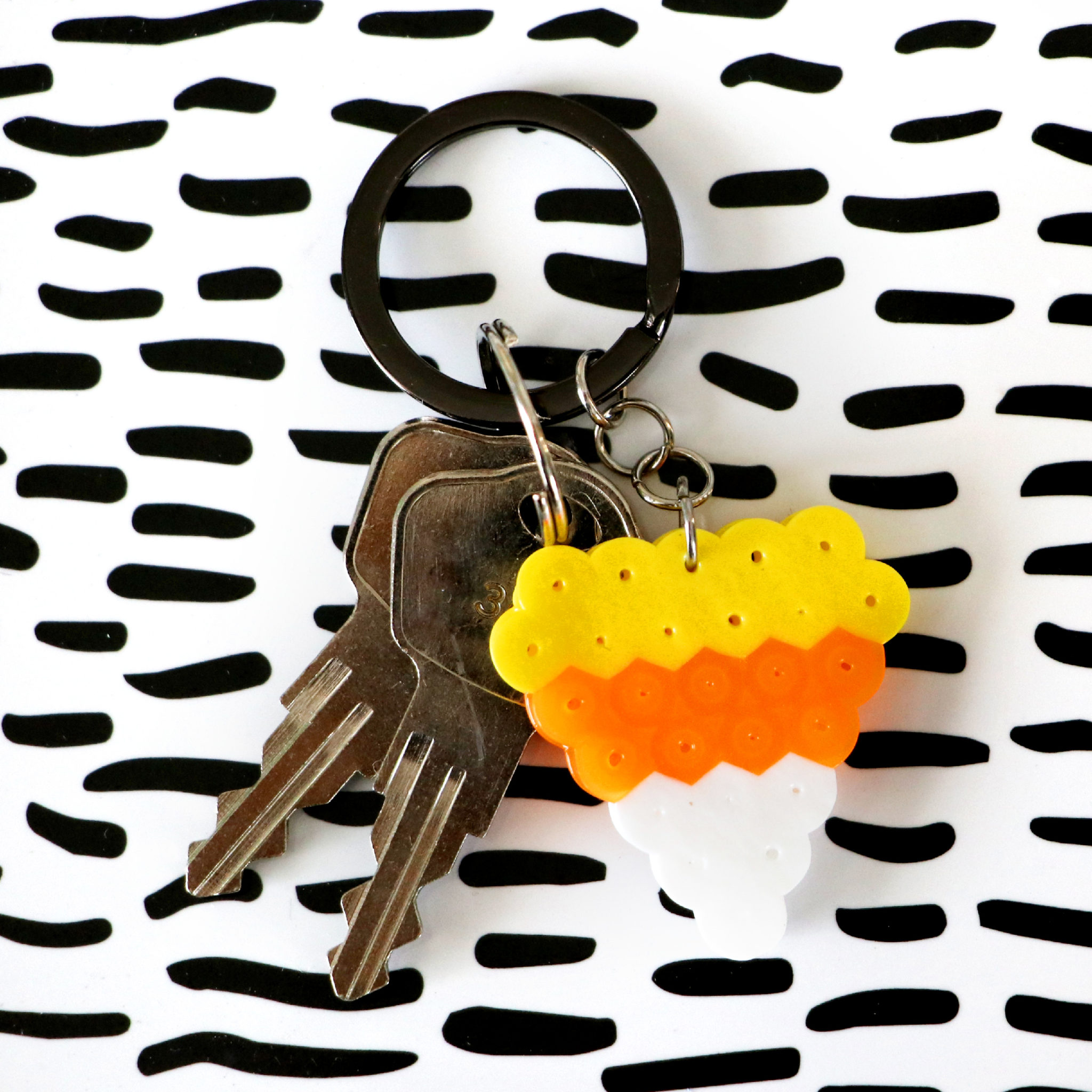 candy_corn_key_chain