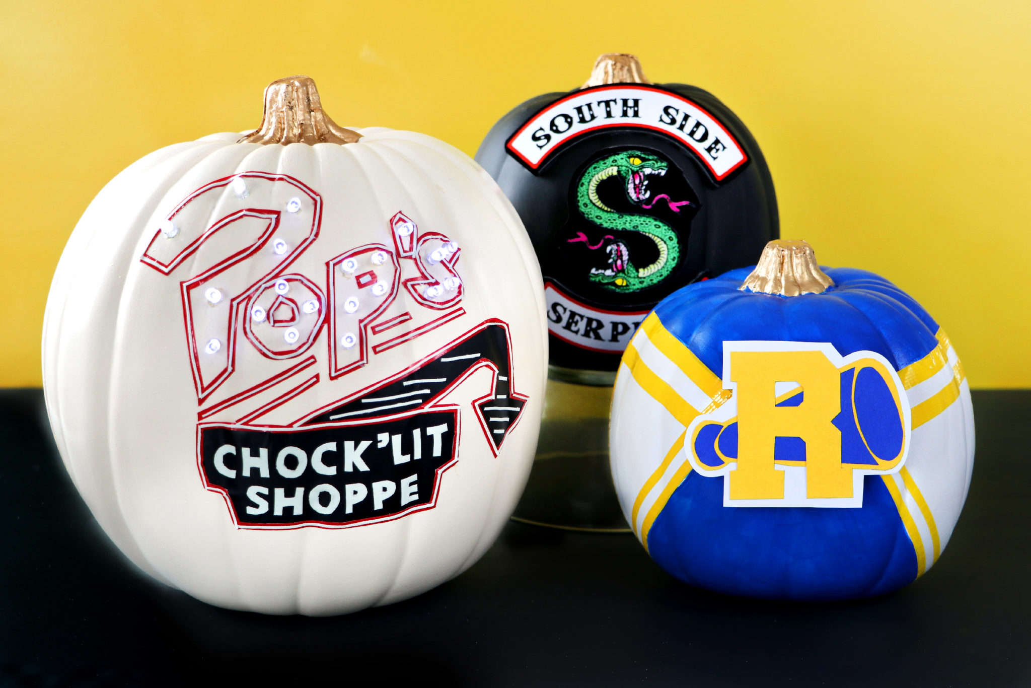 DIY Riverdale Pumpkins for Halloween | Karen Kavett