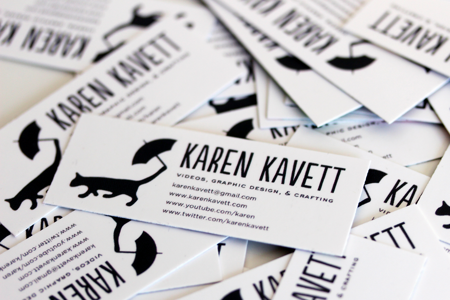 New Business Cards | Karen Kavett