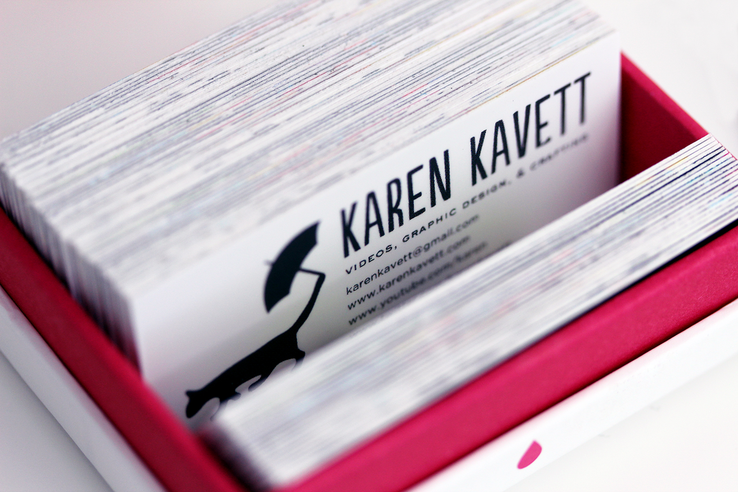 New business cards karen kavett new business cards magicingreecefo Image collections