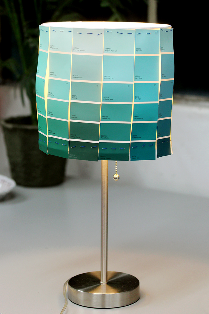 Diy Lampshades On The Wonderly Way Karen Kavett