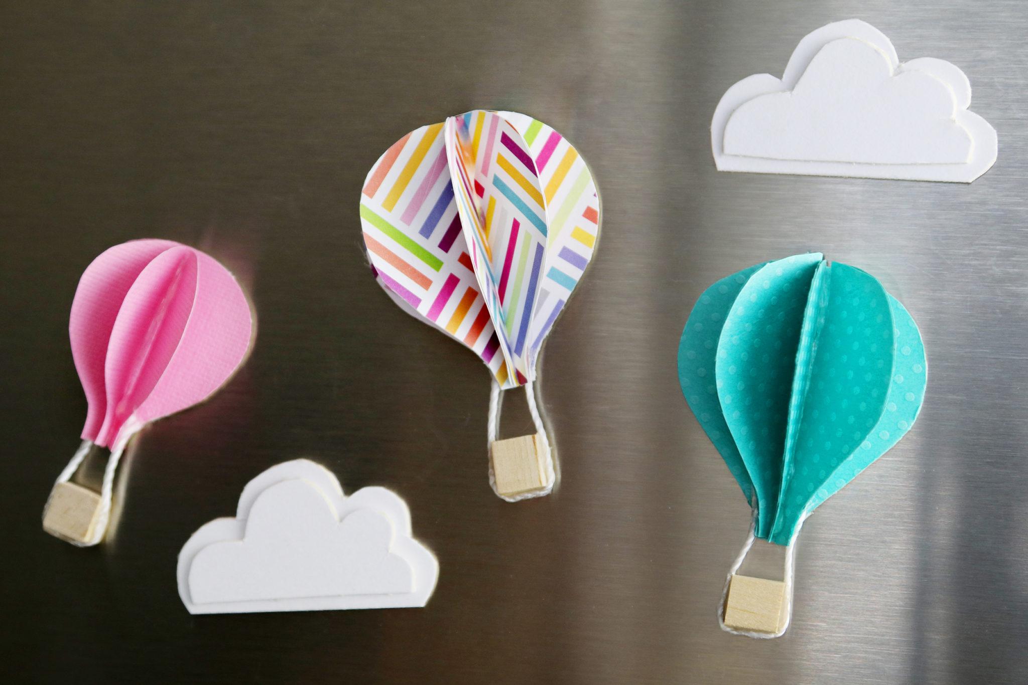 Diy Cute Paper Hot Air Balloons Karen Kavett