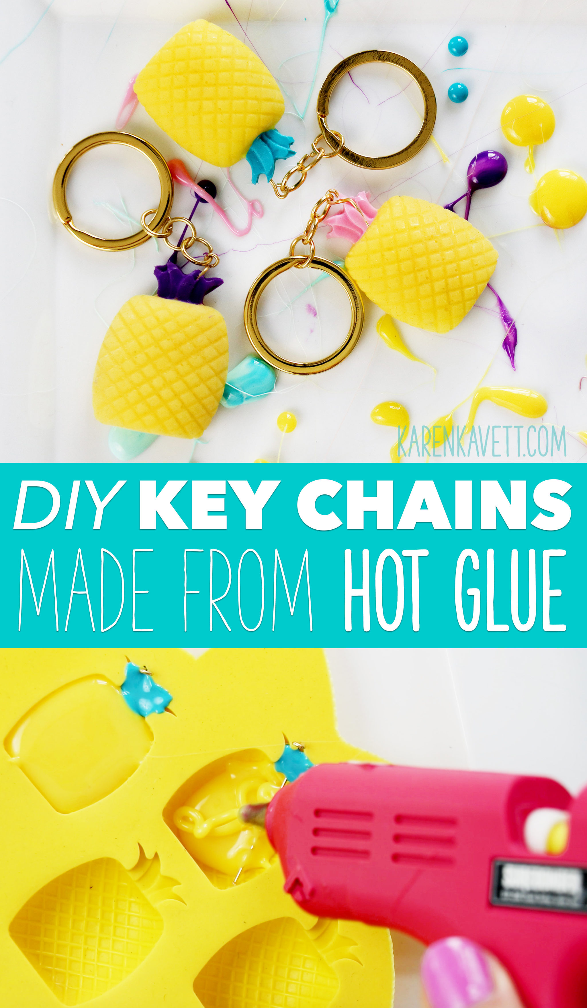 Diy Pinele Key Chains Made From Hot