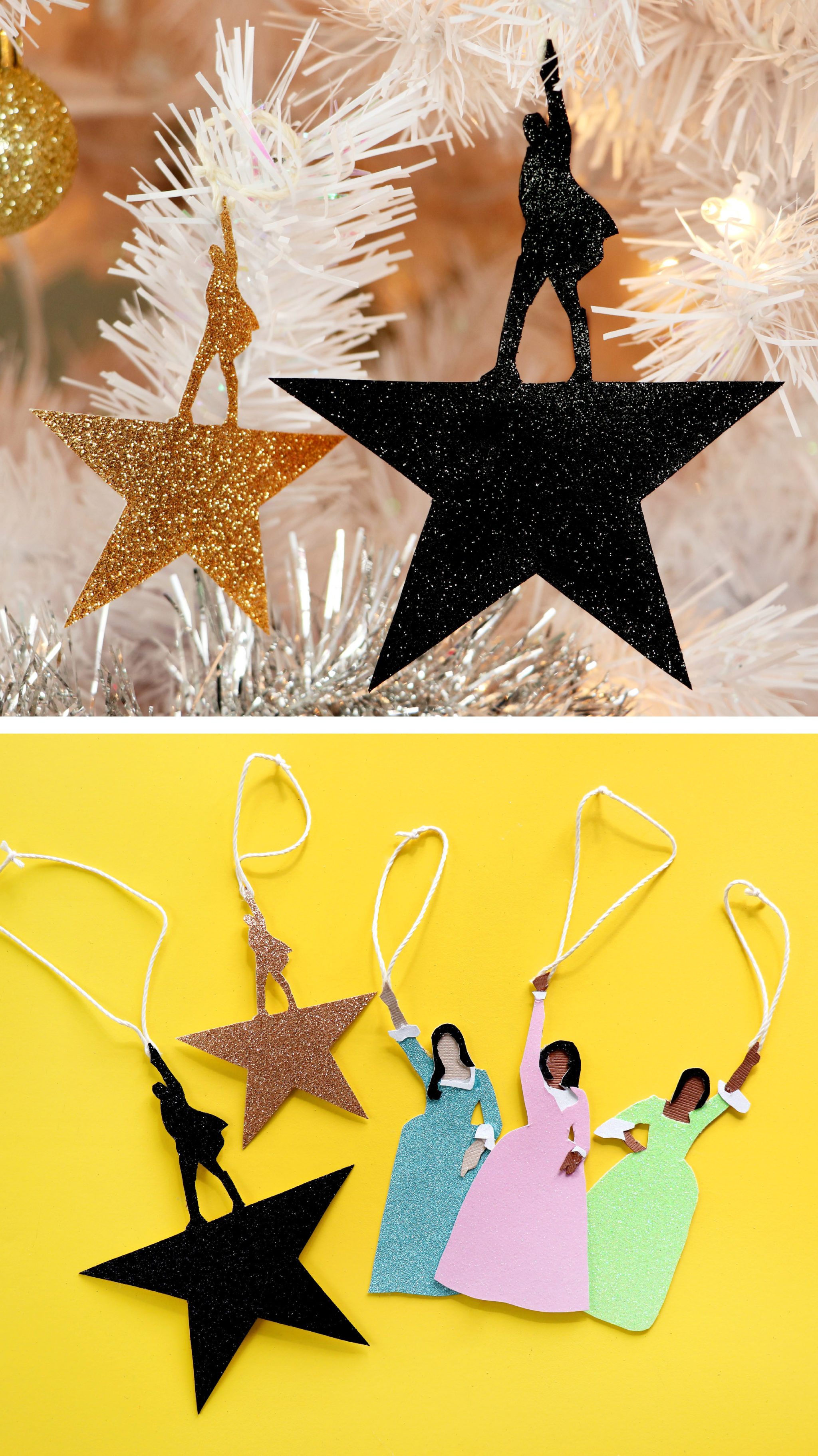 Hamilton Christmas Ornament.Diy Hamilton Christmas Ornaments Karen Kavett