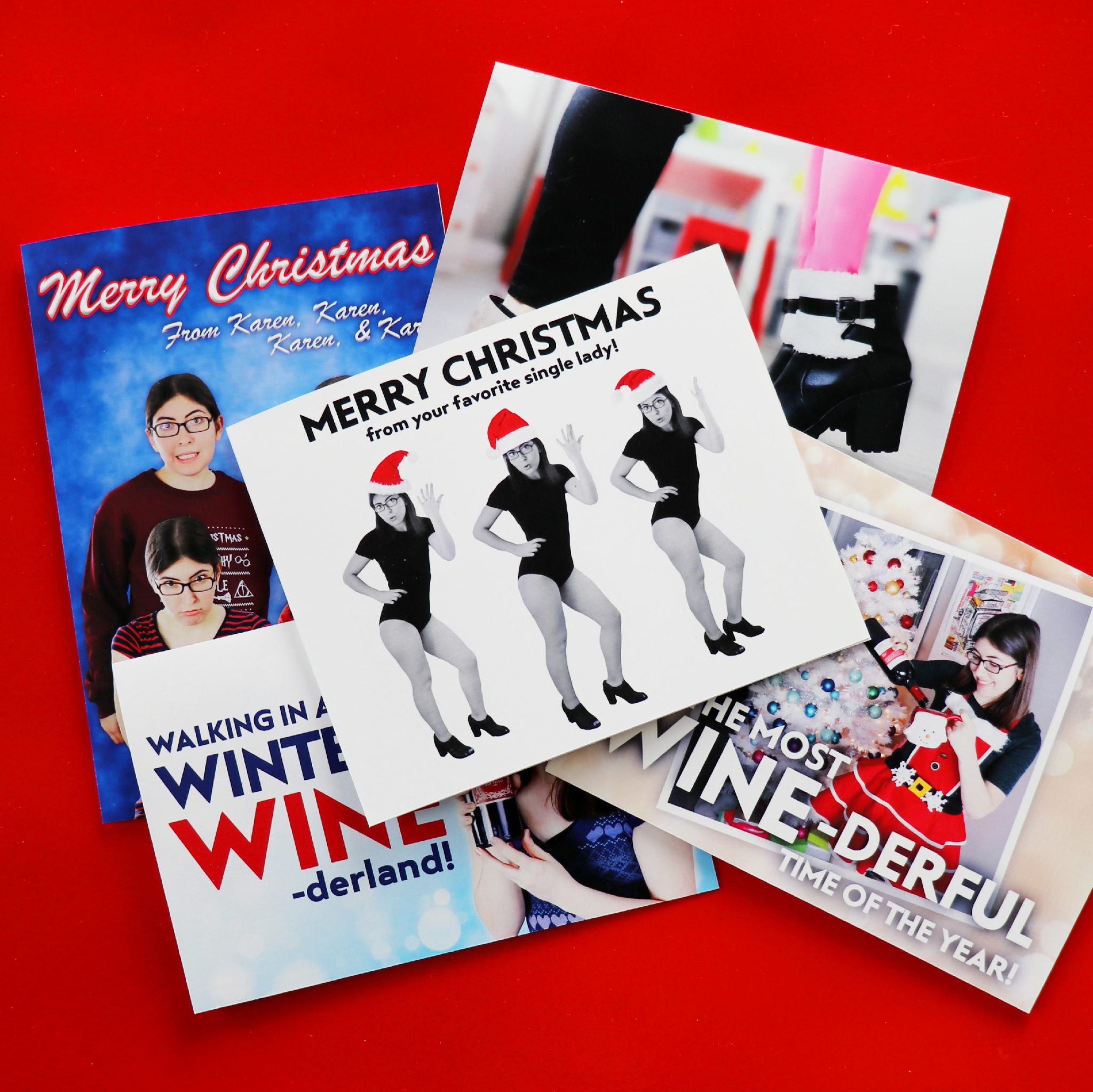 Christmas Card Ideas For Single People
