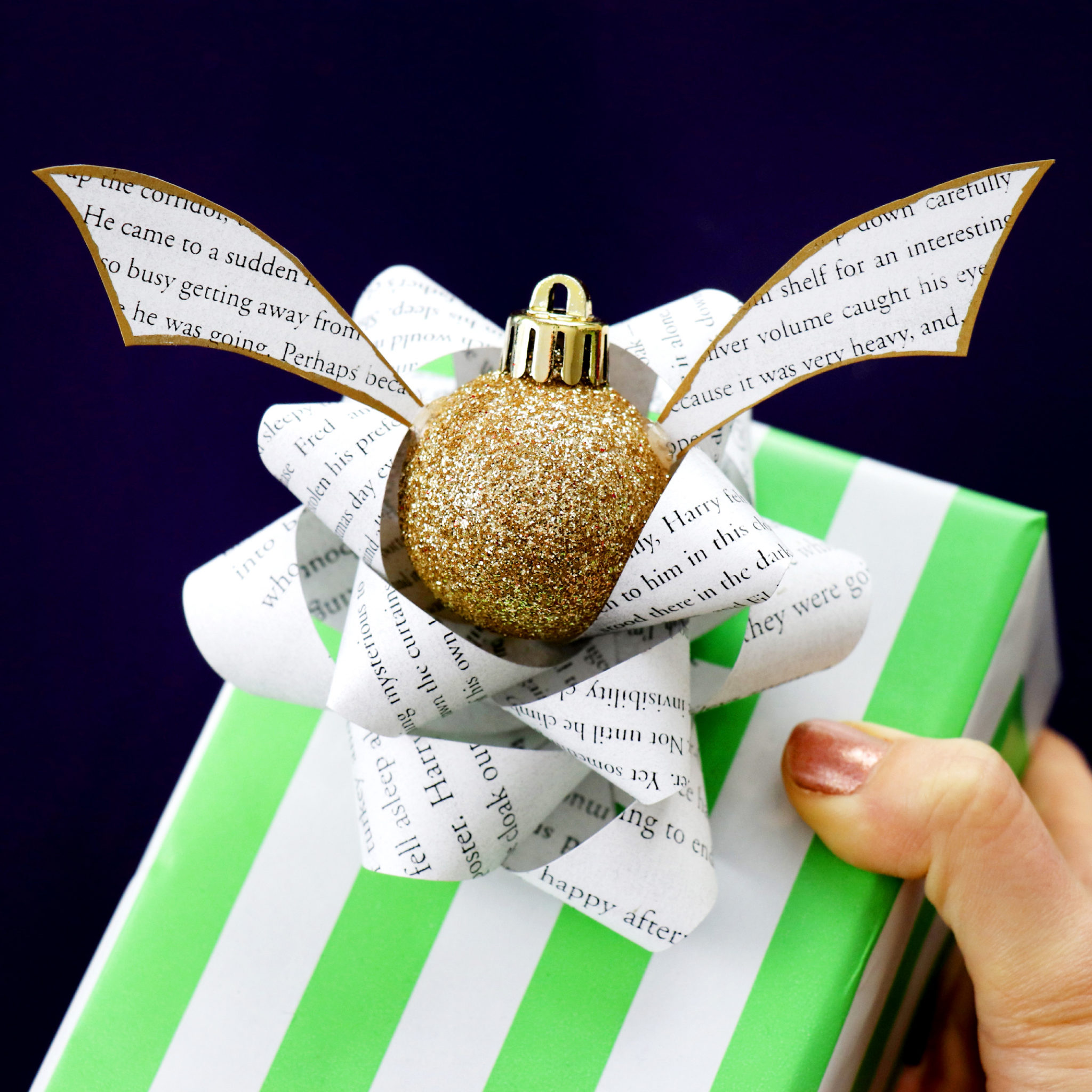 Diy Harry Potter Gift Wrapping Ideas Karen Kavett
