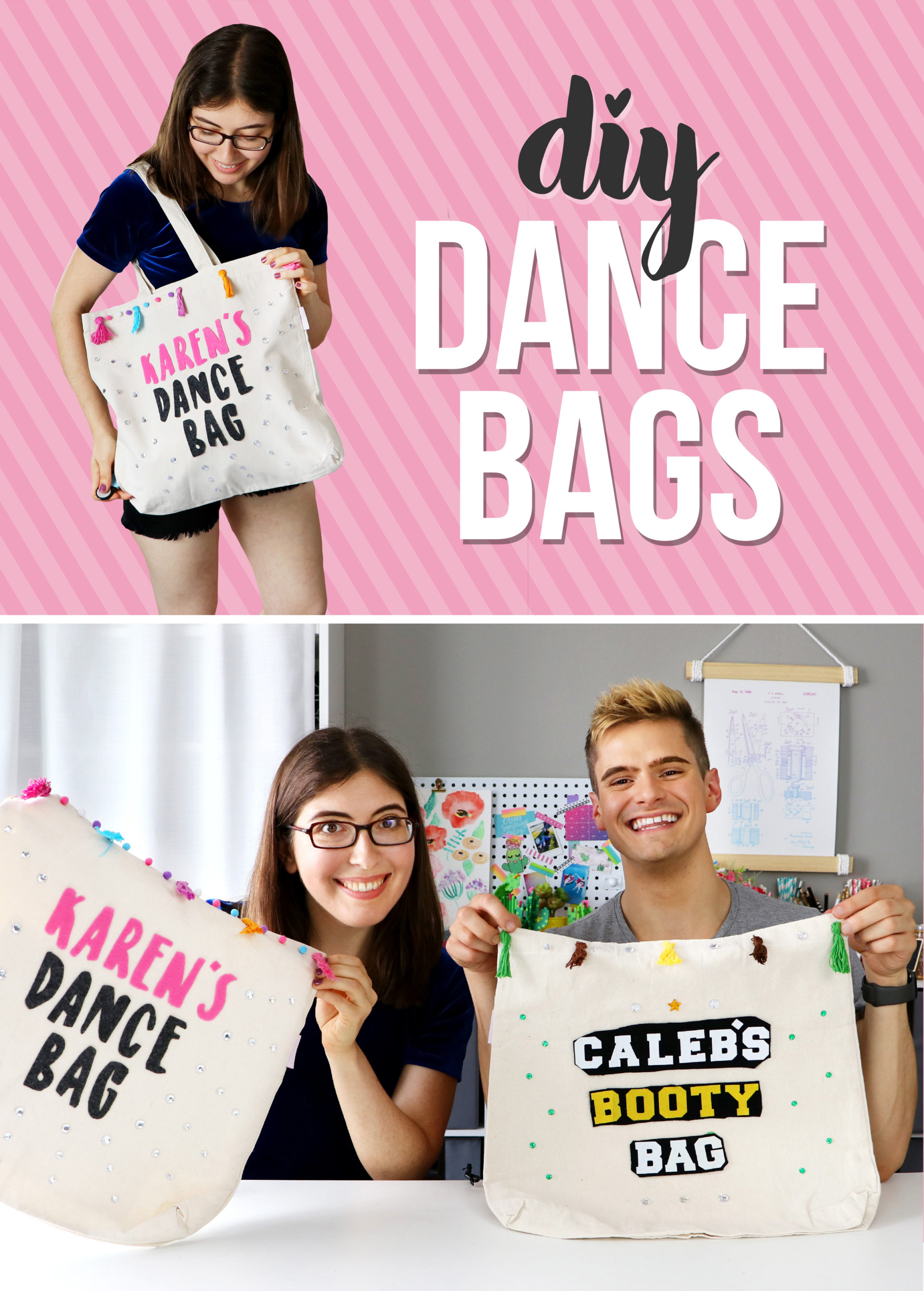 Diy Dance Bags With The Fitness Marshall Karen Kavett