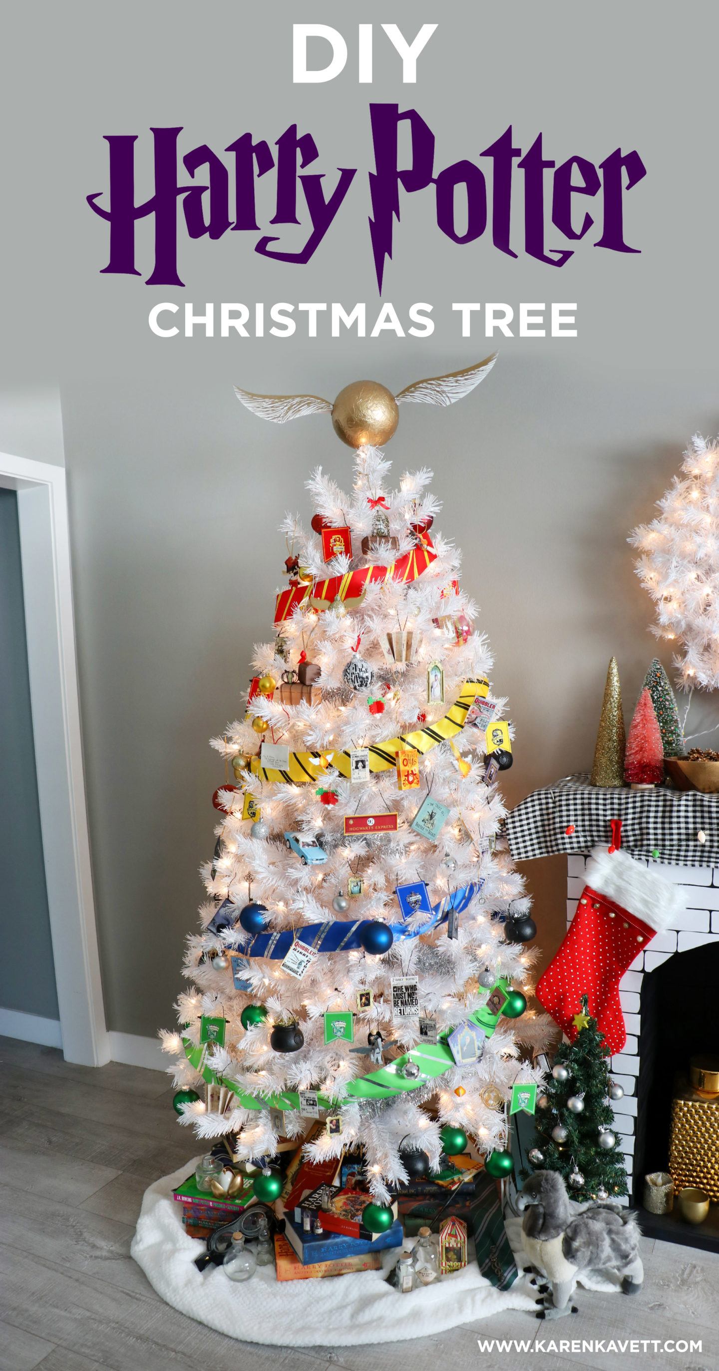 Diy Harry Potter Christmas Tree Karen Kavett